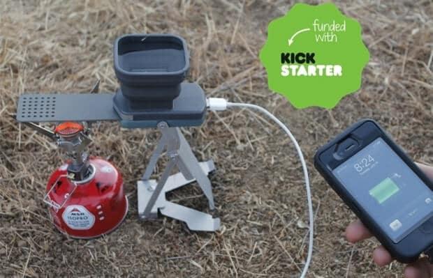 Переносний зарядний пристрій на природу