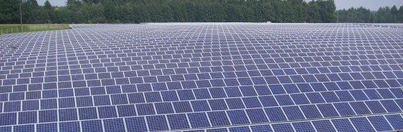 Промислова сонячна електростанція Рівне