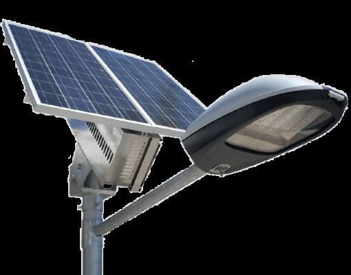 Автономне освітлленя Рівне LED на сонячних баратеях