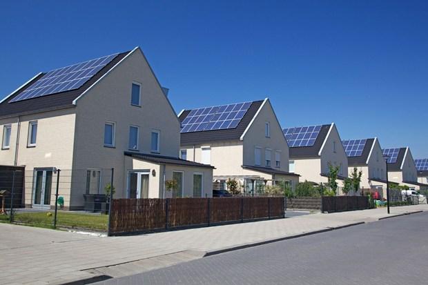Сонячні панелі на будинку Рівне
