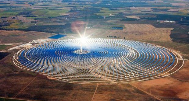 Сонячна електростанція в Марокко