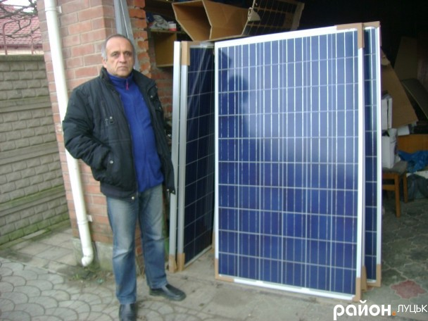 Власна електростанція на сонячних панелях
