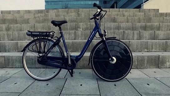 Велосипед на сонячних батареях