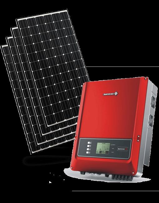 Сонячні панелі під зелений тариф з інвертором
