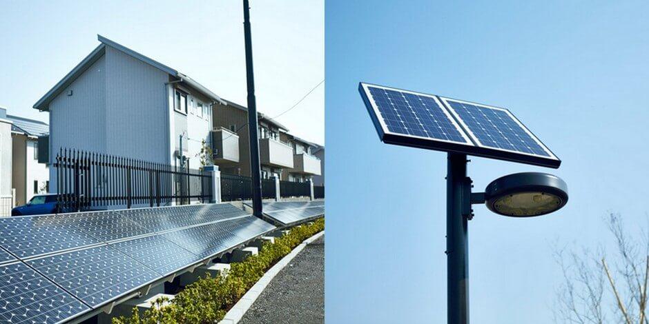 Автнономне освітлення на сонячних батареях