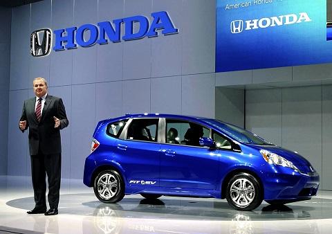 Електромобіль Хонда