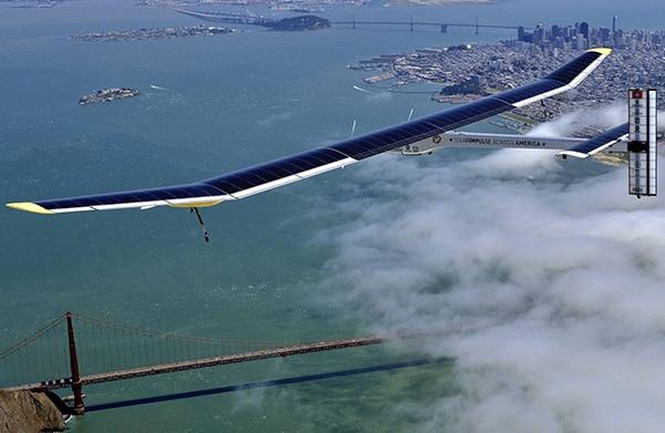 Solar Impulse 2 в польоті
