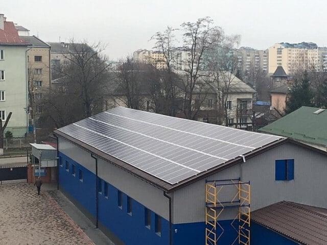 Сонячні панелі для бізнесу