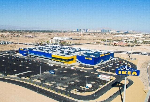 ІКЕА встновить на даху свого торгового центру сонячну електростанцію