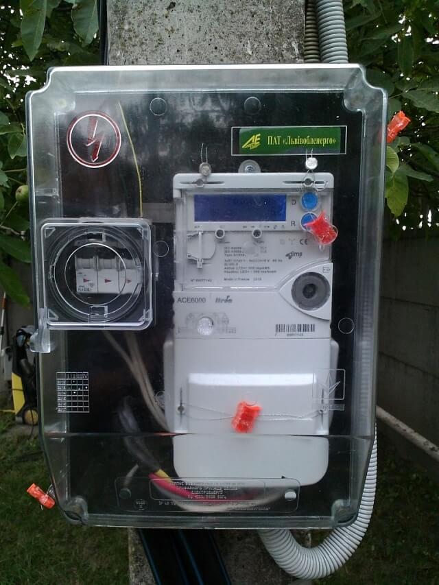 Двонаправлений лічильник під зелений тариф в Україні
