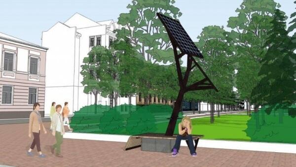 У Тернополі встановлять перше в Україні «сонячне дерево»