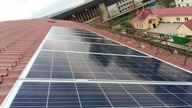 В ужгородській школі встановили 2кВт сонячних панелей