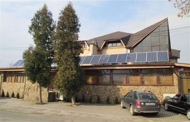 Сонячні панелі для бізнесу на Закарпатті