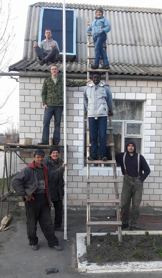 Сонячні колектори для школи на Вінничинні