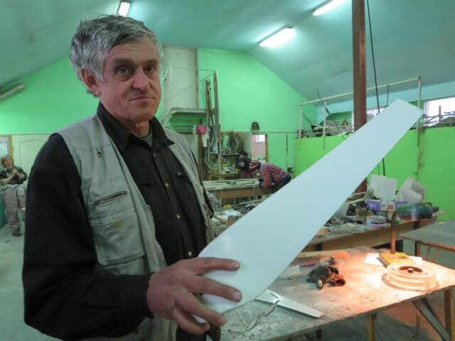 Як у селі під Харковом українські авіаційні інженери організували виробництво вітрогенераторів