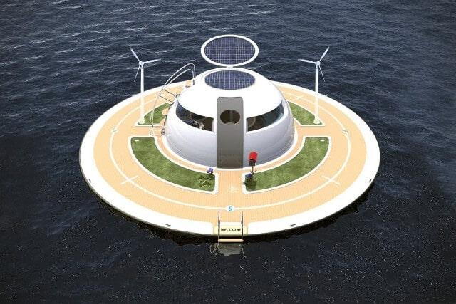 Італійці спроектували плавучий енергонезалежний будинок