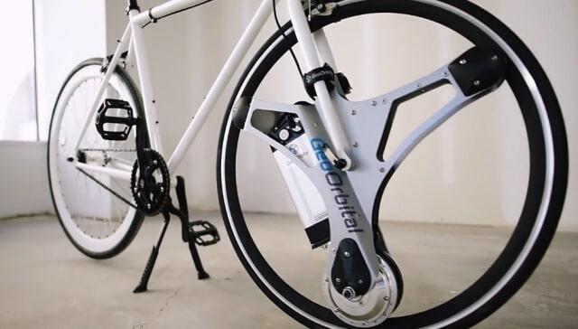 Колесо GeoOrbital перетворює будь-який велосипед на електричний