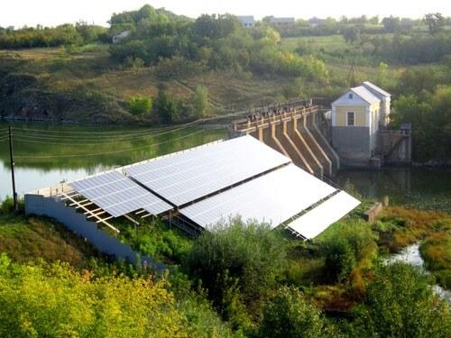 На Черкащині працює дві гідро-сонячні електростанції