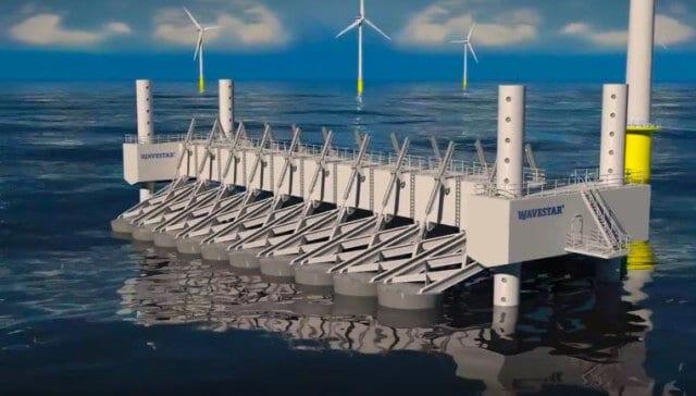 В Данії збудували новітню хвильову електростанцію