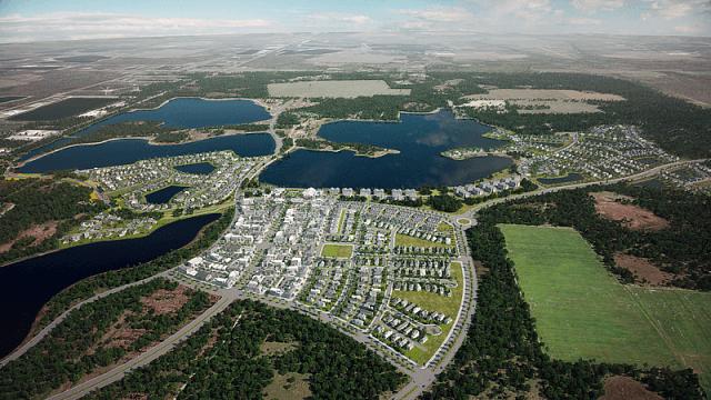 В США будують місто, що повністю живитиметься сонячною енергією