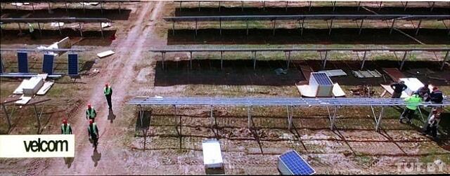 Білорусь будує сонячну електростанцію на забрудненій ЧАЕС землі