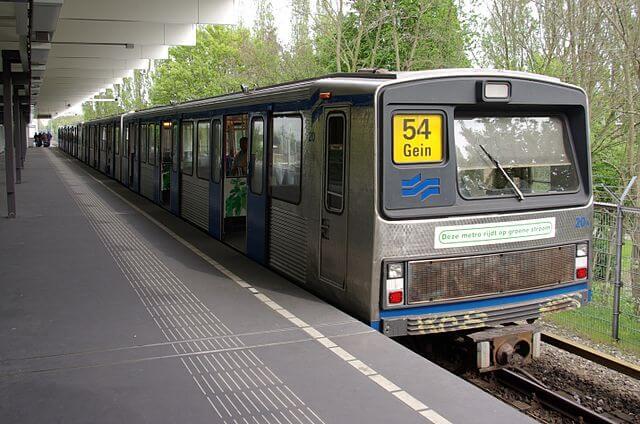 На станціях метро Амстердаму встановлять сонячні панелі
