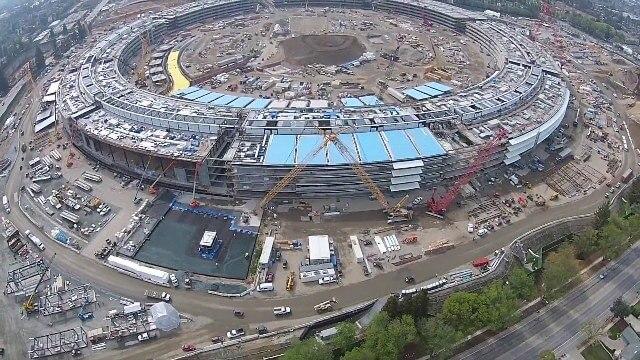Apple має намір продавати надлишки електроенергії від сонячних батарей з даху нової штаб-квартири
