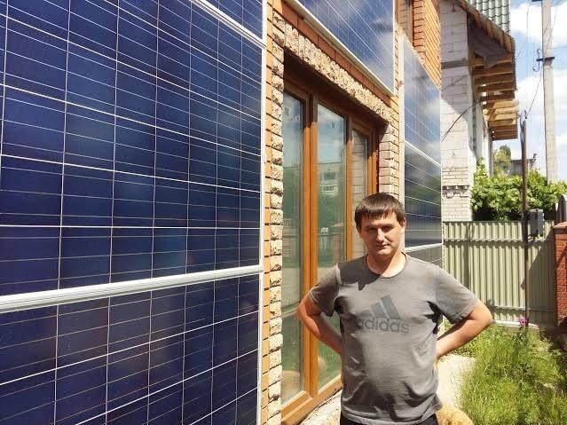Лучанин зробив свій будинок автономним завдяки енергії землі та сонця
