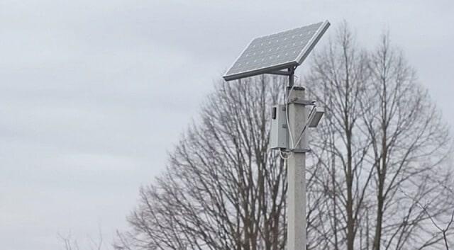 На Волині вісім сіл освітлюються вуличними ліхтарями на сонячній енергії