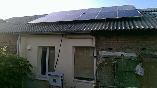 Приватна сонячна електростанція для зеленого тарифу