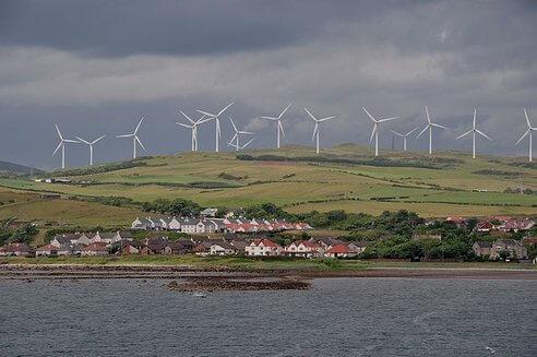 Шотландія добу живилася лише енергією вітру