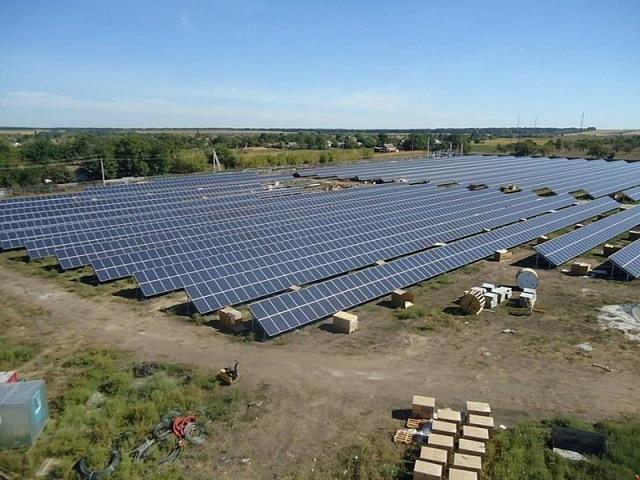 На Кіровоградщині запускають в роботу сонячну електростанцію потужністю 3 МВт