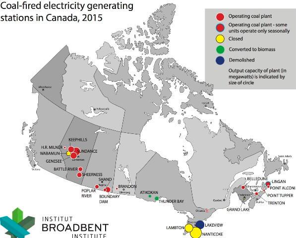 Франція, Фінляндія, Великобританія і Канада повністю відмовляться від вугільних електростанцій