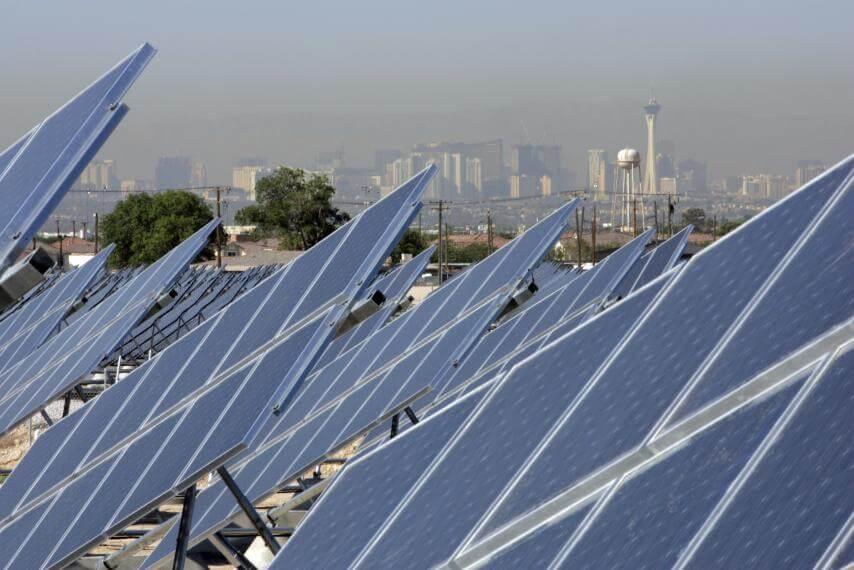 Лас-Вегас повністю перейшов на альтернативні джерела енергії