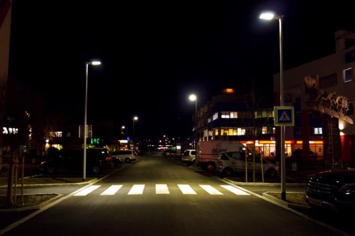 У місті Мена Чернігівської області запущений проект заміни вуличного освітлення