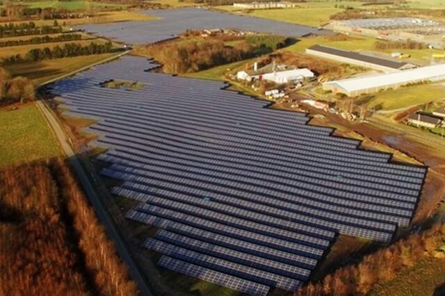 В Данії зафіксували рекордно низьку ціну на сонячну енергію