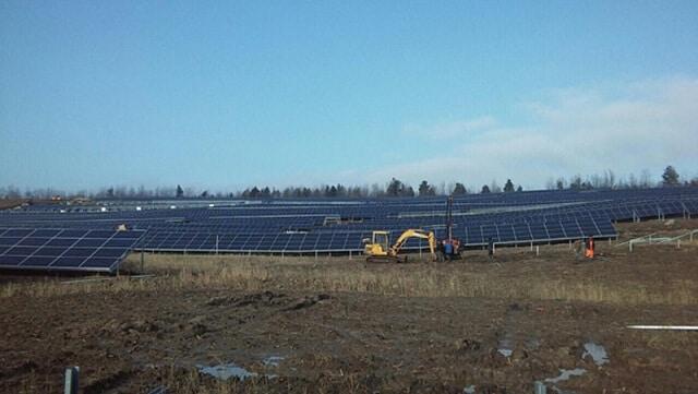 Горбиста місцевість на Західній Україні стає все більш привабливою для будівництва сонячних електростанцій