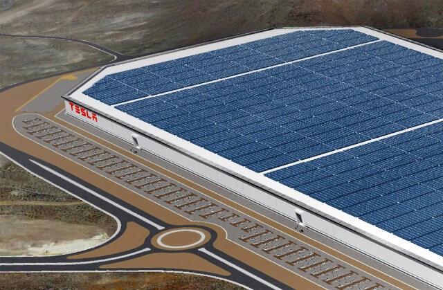 На даху Гігафабрики Tesla встановить найбільший в світі «сонячний» дах потужністю 70 МВт