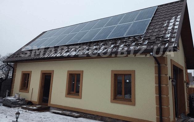 На мережевій сонячній станції на 30 кВт можна заробляти 10 тис грн у місяць