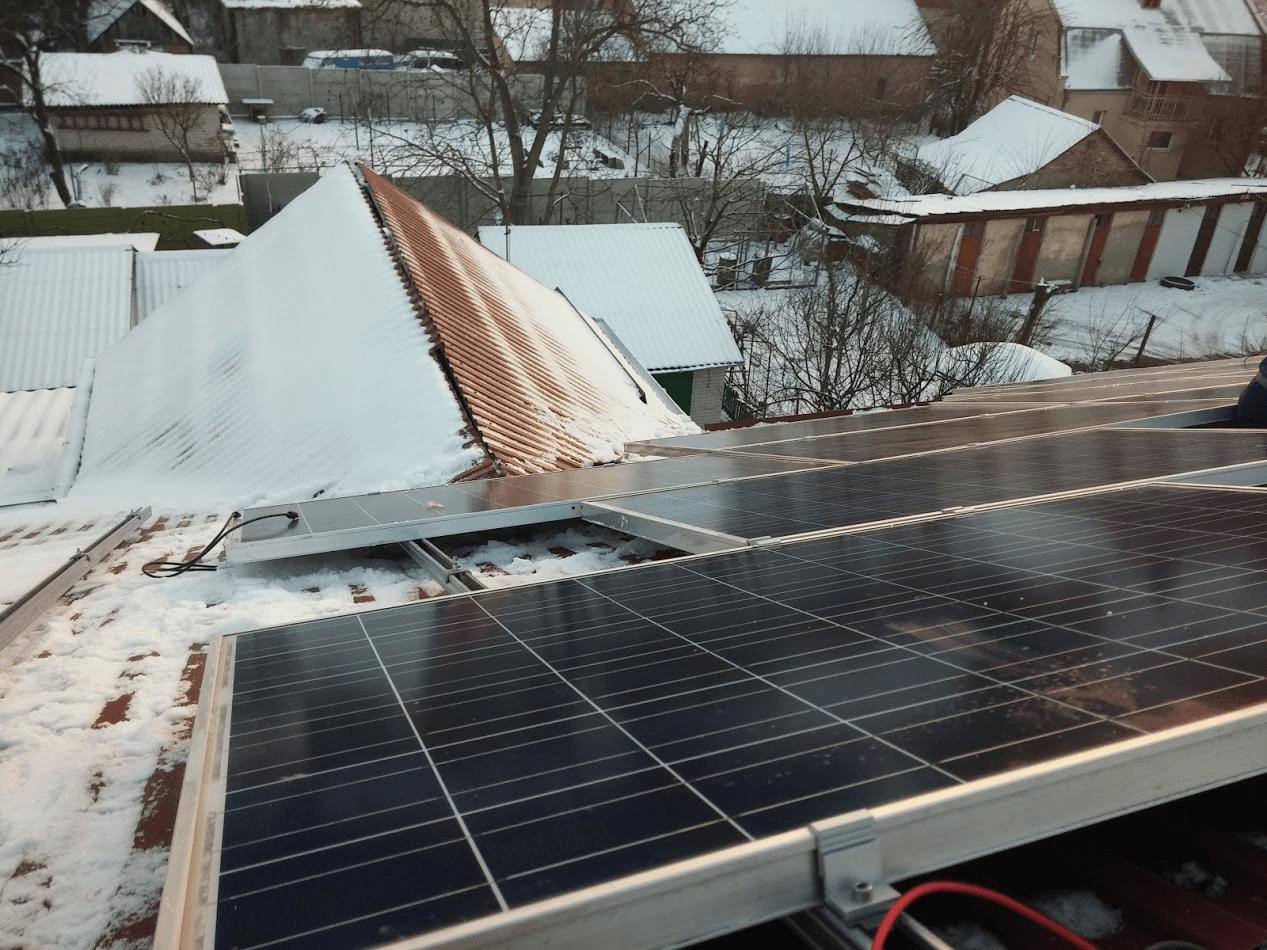 Сонячні панелі 10кВт Рівне