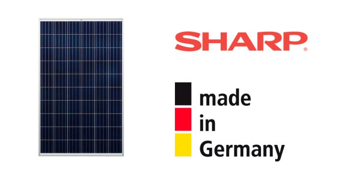 Сонячні панелі SHARP відтепер і в м. Рівне