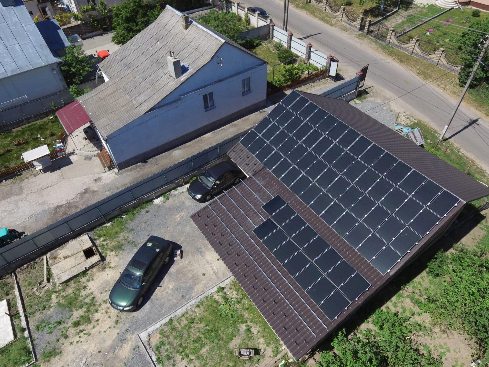 онячна електростнація під зелений тариф 10 кВт, Рівне, Колоденка
