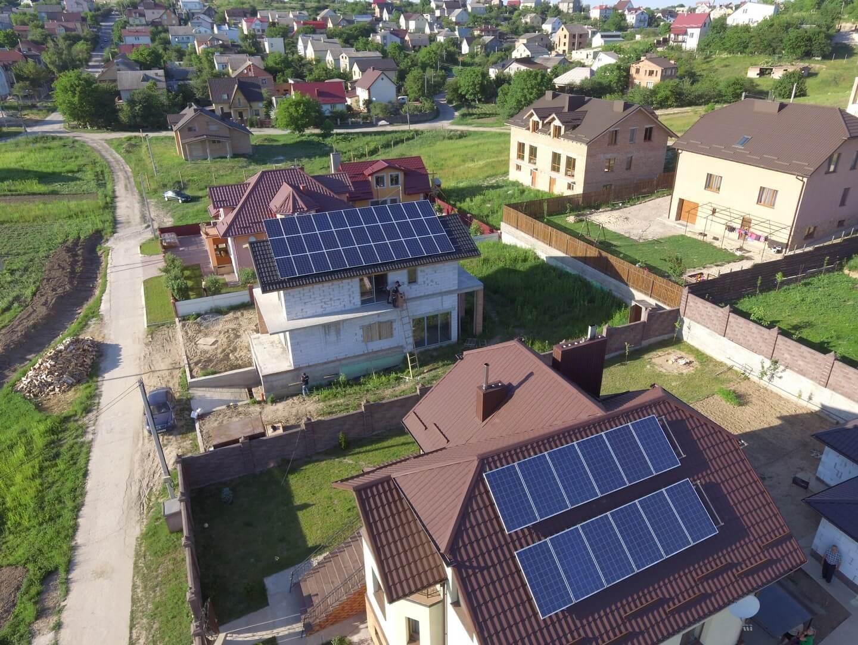 Сонячна електростанція 9кВт під зелений тариф в м.Рівне, Червоні Гори