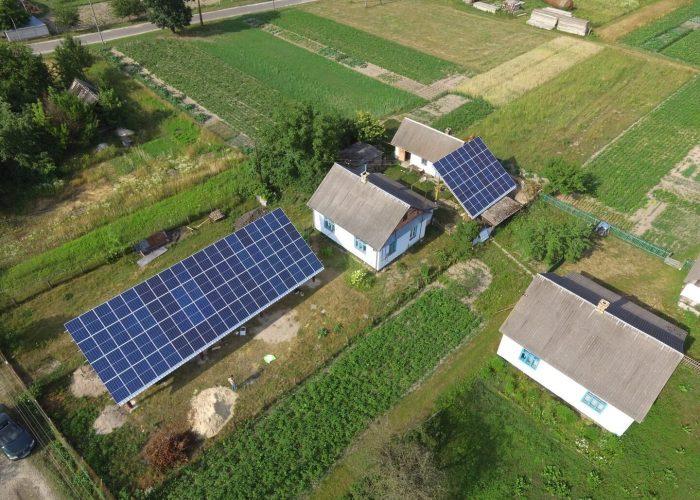 Сонячна електростанція 30кВт під зелений тариф. Костопіль 2018