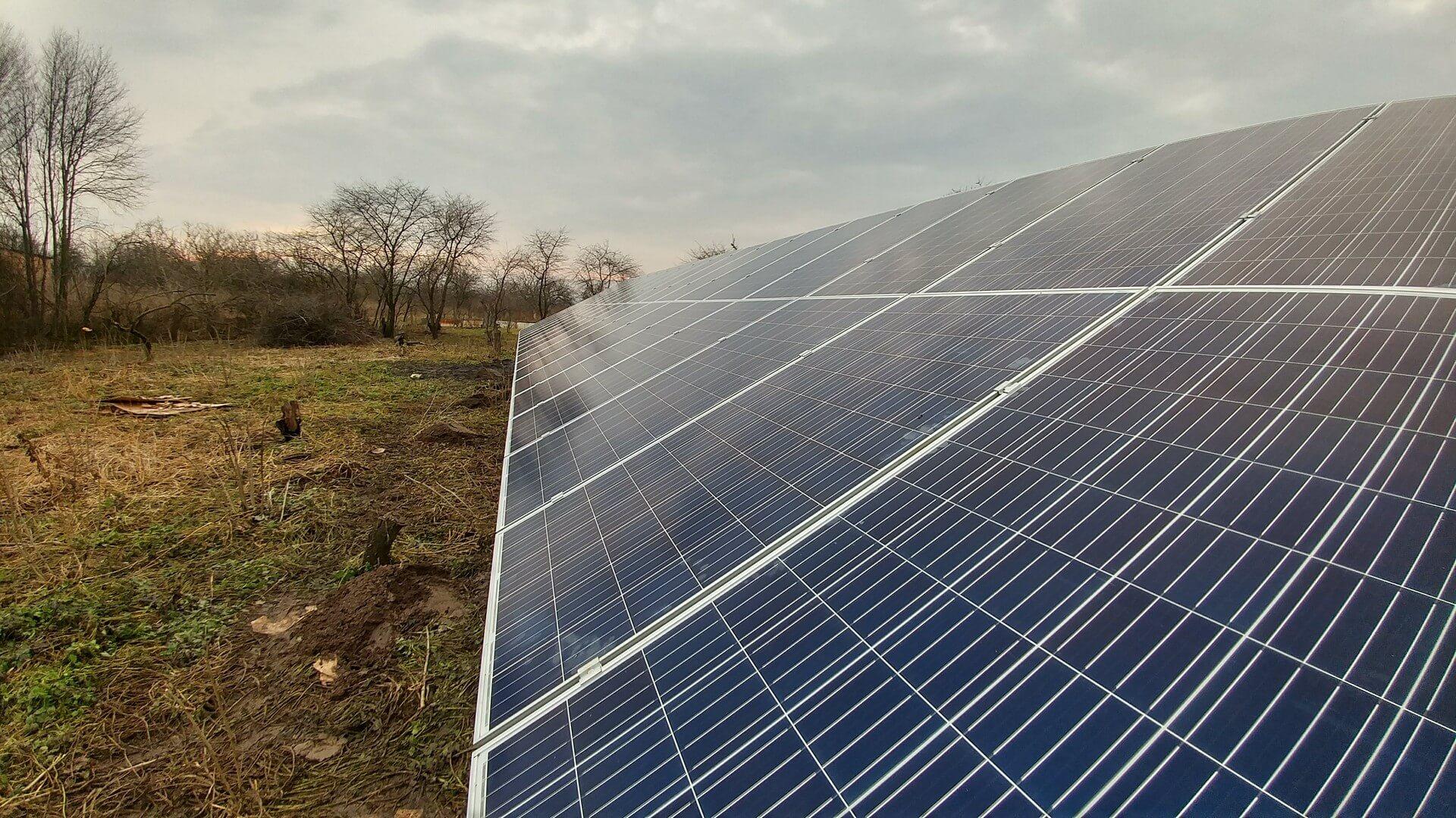 Сонячна електростанція 10кВт під зелений тариф. Миротин, Остріг 2018