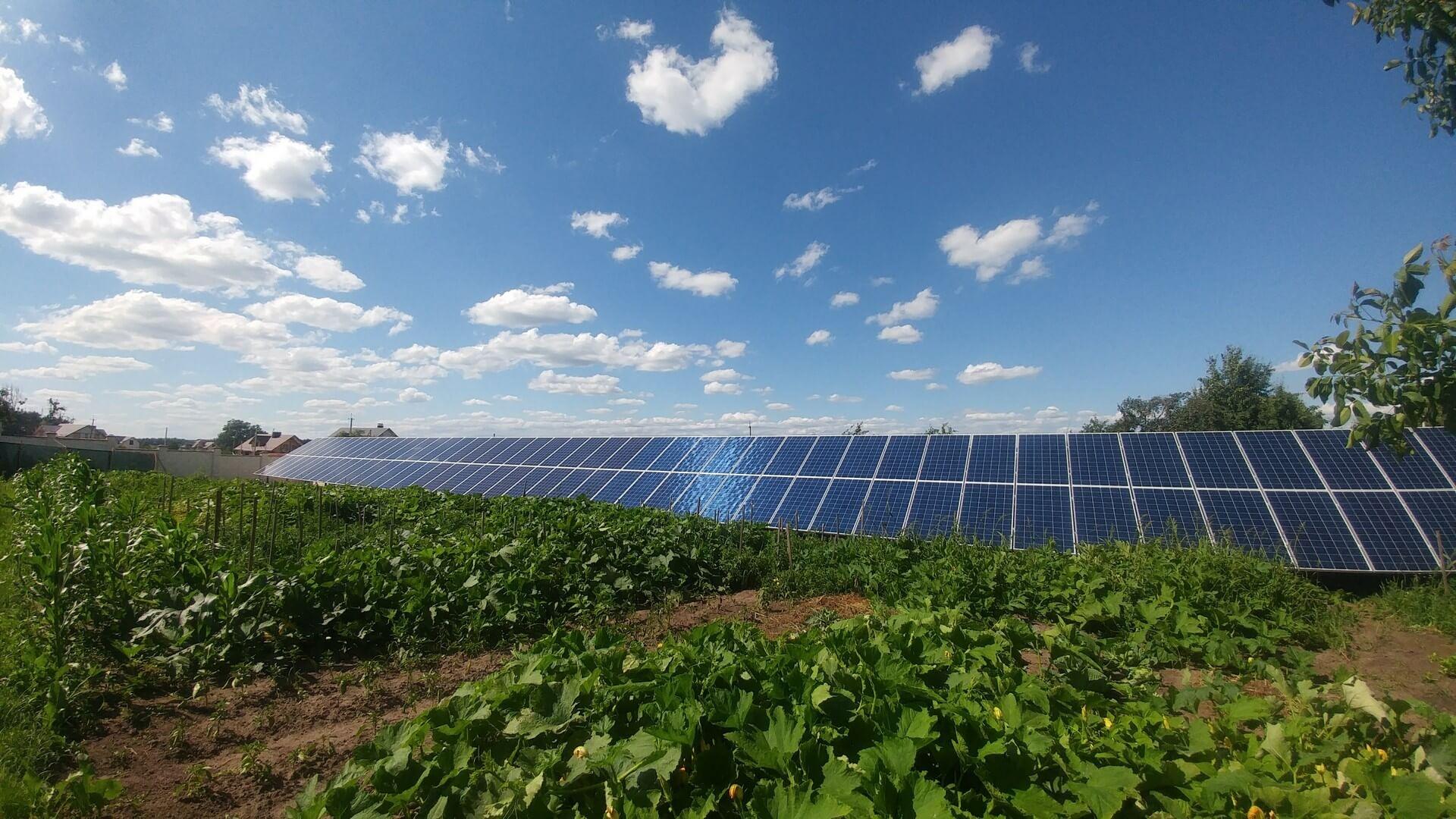 Сонячна електростанція 30 кВт під зелений тариф. Олександрія 2018