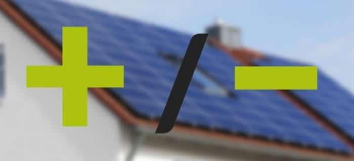 Плюси і мінуси сонячної електростанції для дому