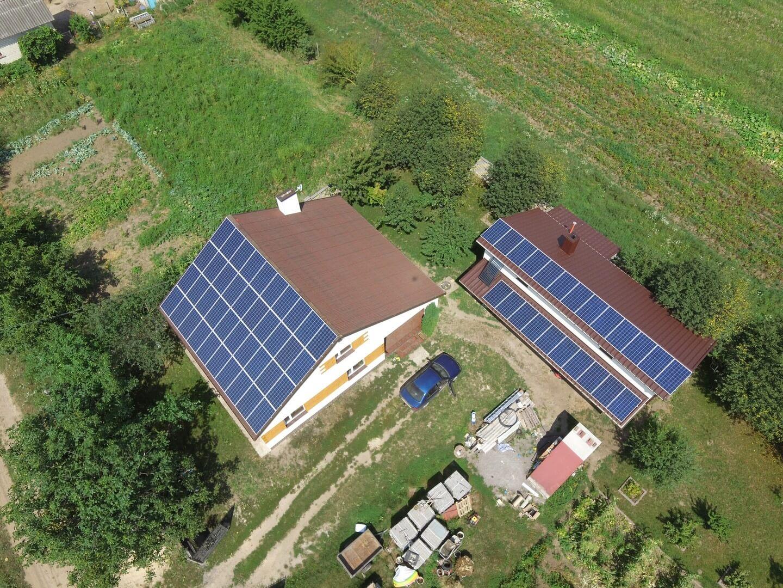 Сонячна електростанція 17 кВт під зелений тариф. Обарів 2018