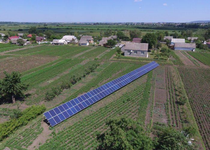 Сонячна електростанція 30 кВт під зелений тариф. Тараканів Дубно 2017