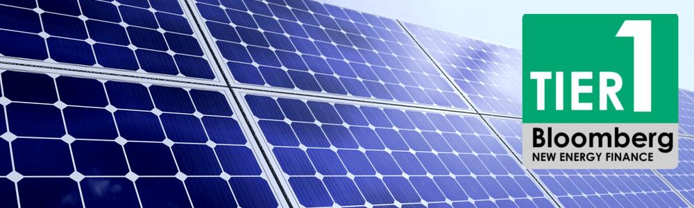 Рейтинг сонячних панелей Bloomberg 2018